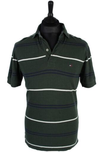 Tommy Hilfiger Polo Shirt 90s Retro Green M