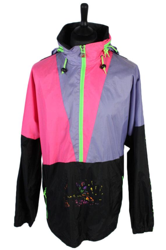 Jeantex Vintage Raincoat Windbreaker - M,L Multi - RC239-0