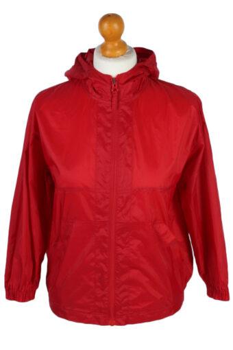 Raincoat Waterproof Outdoor Jacket Windbreaker Red 8-11 Years