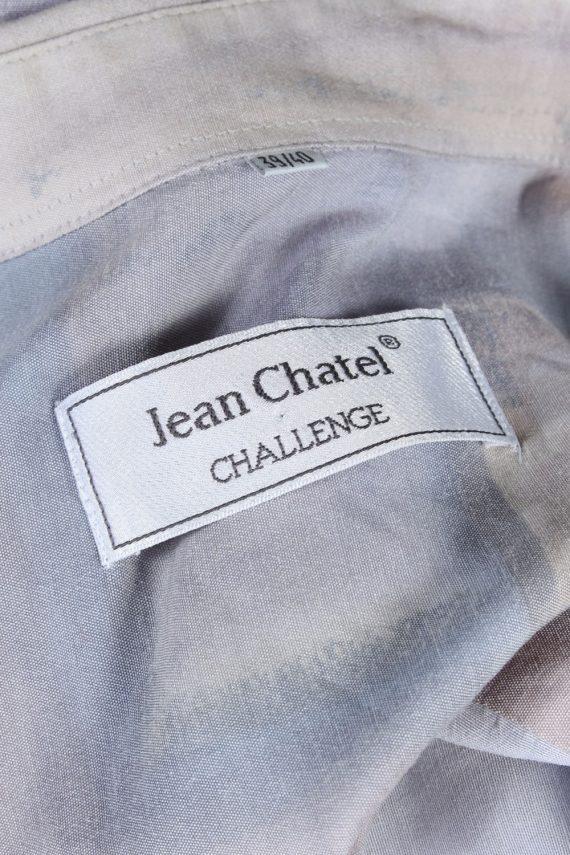 Jean Chatel Abstract Patterned Vintage Hawaiian Shirt - M-L Multi - SH2637-45593
