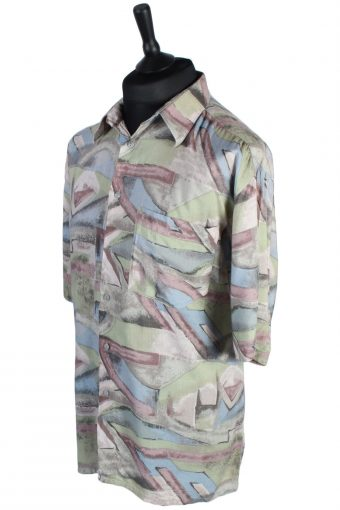 C.C. Concord Abstract Patterned Vintage Shirt - L Multi - SH2640-45604
