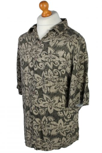 Eighty Eight Floral Patterned 80s 90s Shirt - L Multi - SH2668-45899