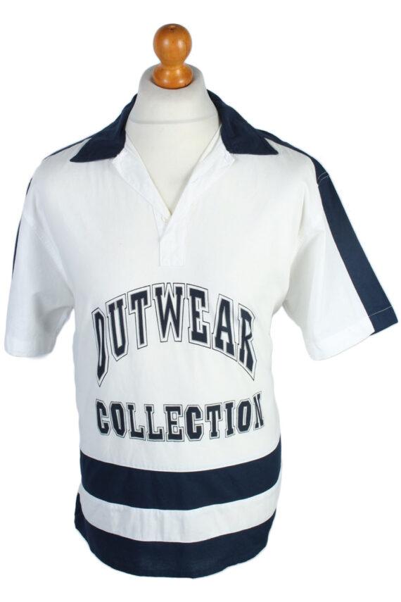 Fashion And Style Plain Patterned 80s 90s Shirt - M Multi - SH2681-0