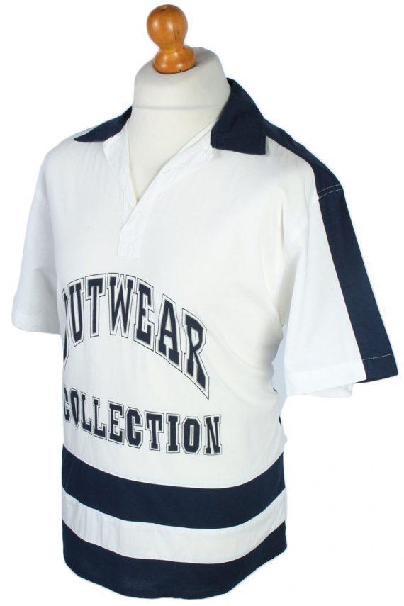 Fashion And Style Plain Patterned 80s 90s Shirt - M Multi - SH2681-45939