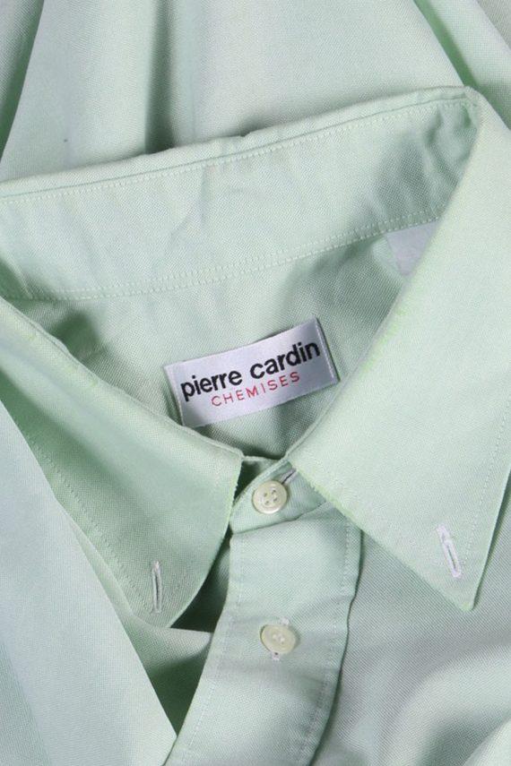 Pierre Cardin Vintage Plain Short Sleeve Shirt - M/L Green - SH2712-47811