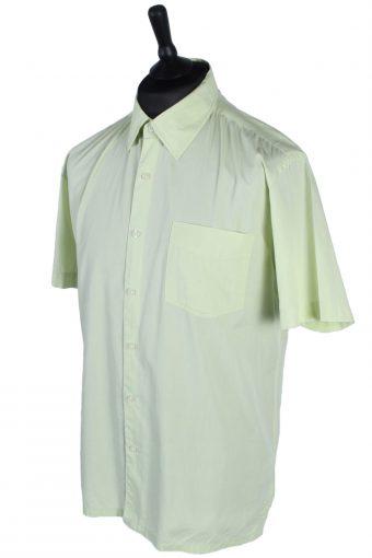 Chevignon Vintage Plain Short Sleeve Shirt - XL Yellow - SH2719-47833