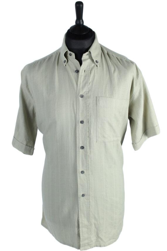 Pierre Cardin Vintage Plain Shirt Sage Green M/L - SH2739-0