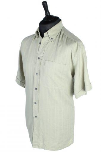 Pierre Cardin Vintage Plain Shirt Sage Green M/L - SH2739-48096
