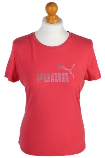 Puma T-Shirt 90s Retro Pink M