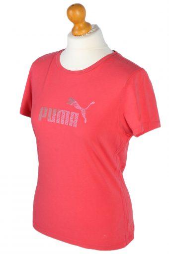 Puma Vintage T Shirt - M,L Pink - TS041-47003