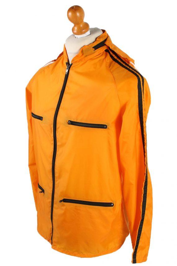 UNISEX Vintage Raincoat & Windbreaker - S,M Orange - RC285-48933