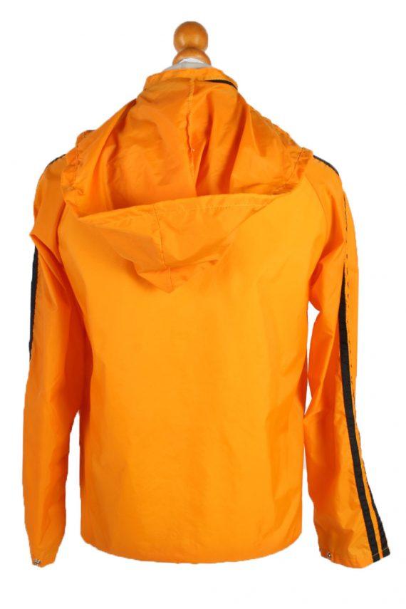 UNISEX Vintage Raincoat & Windbreaker - S,M Orange - RC285-48931