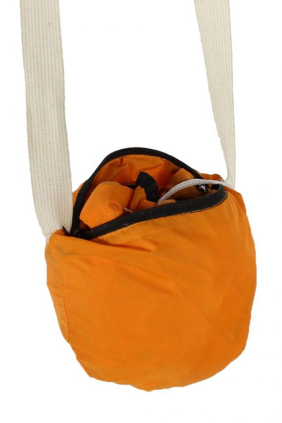 UNISEX Vintage Raincoat & Windbreaker - S,M Orange - RC285-48930