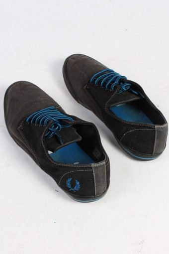 Fred Perry Low Tops Casual Sneakers Vintage - UK 8 Black - S233-48666