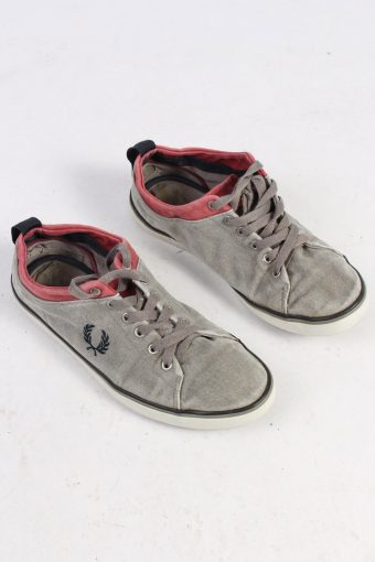 Fred Perry Low Tops Casual Sneakers Vintage – UK 7 Grey