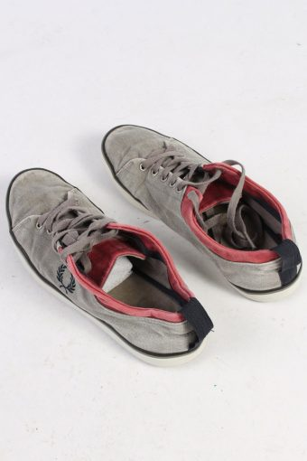 Fred Perry Low Tops Casual Sneakers Vintage - UK 7 Grey - S234-48669