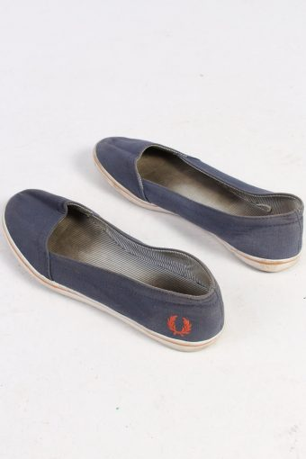 Fred Perry Slip-On Casual Sneakers Vintage - UK 5 Navy - S239-48685