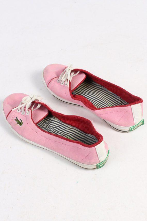 Lacoste Slip-On Sneakers Vintage - UK 5 Pink - S244-48699