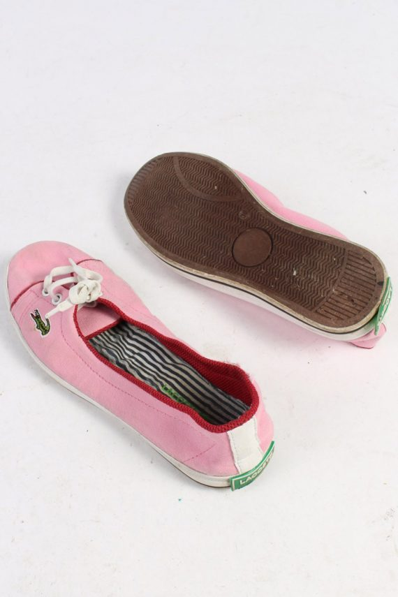 Lacoste Slip-On Sneakers Vintage - UK 5 Pink - S244-48700