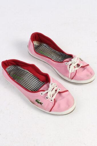 Lacoste Slip-On Sneakers Vintage – UK 5 Pink