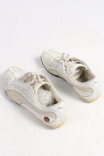 Puma Trainers Shoes Vintage - UK 4.5 White - S271-48776