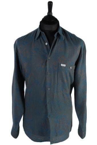 90s Shirt Cajun s Patterned Long Sleeve Multi L