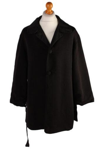 Vintage N/A Designer Retro Coat  M , L Black