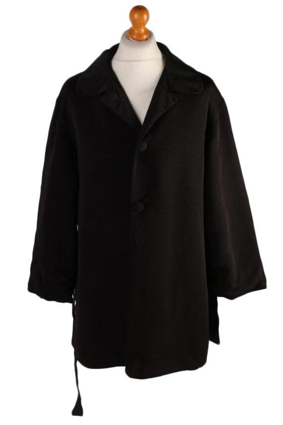 Vintage N/A Designer Retro Coat M , L Black -C486-0