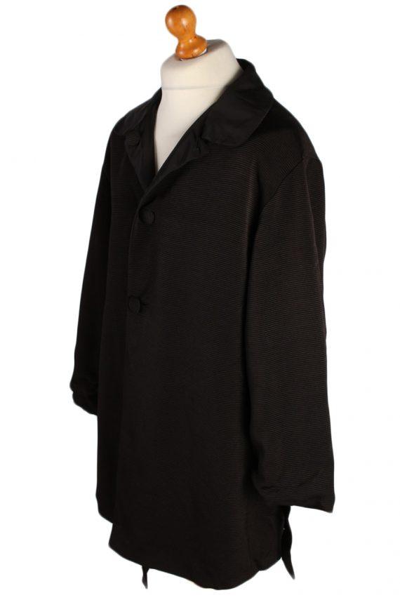 Vintage N/A Designer Retro Coat M , L Black -C486-50803