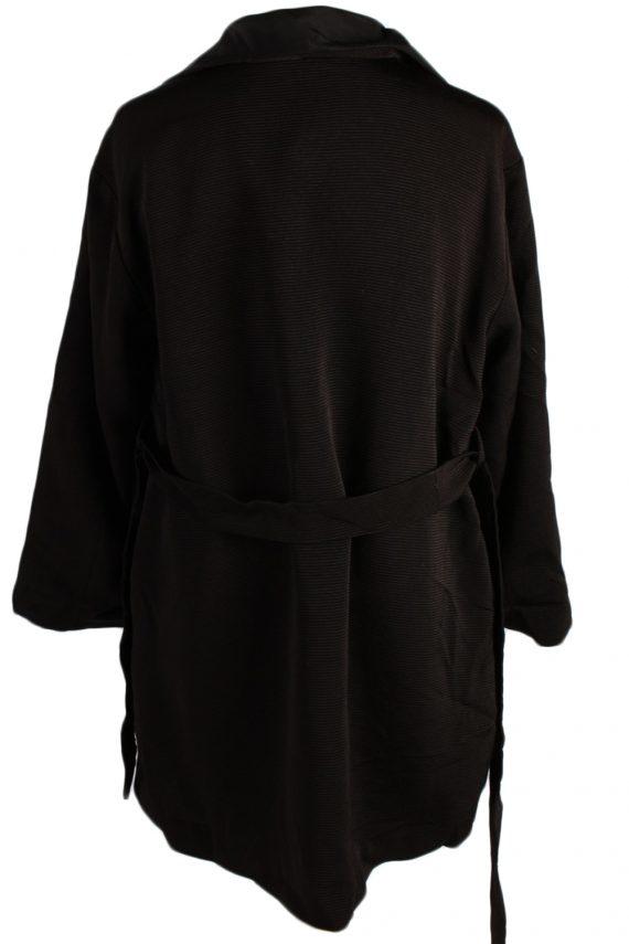 Vintage N/A Designer Retro Coat M , L Black -C486-50802