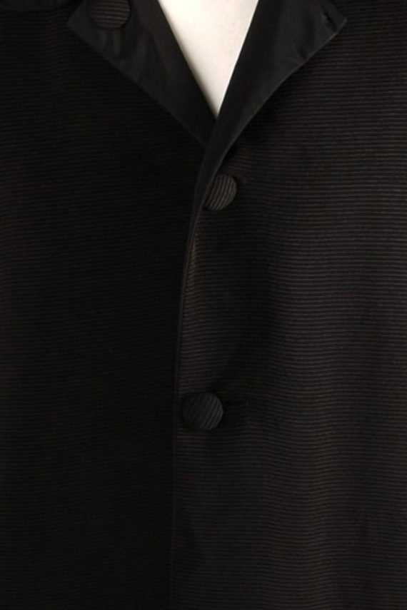 Vintage N/A Designer Retro Coat M , L Black -C486-50801