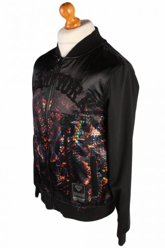 Vintage Beck & Hersey College Jersey Designer Stylish Coat M Multi -C505-50880