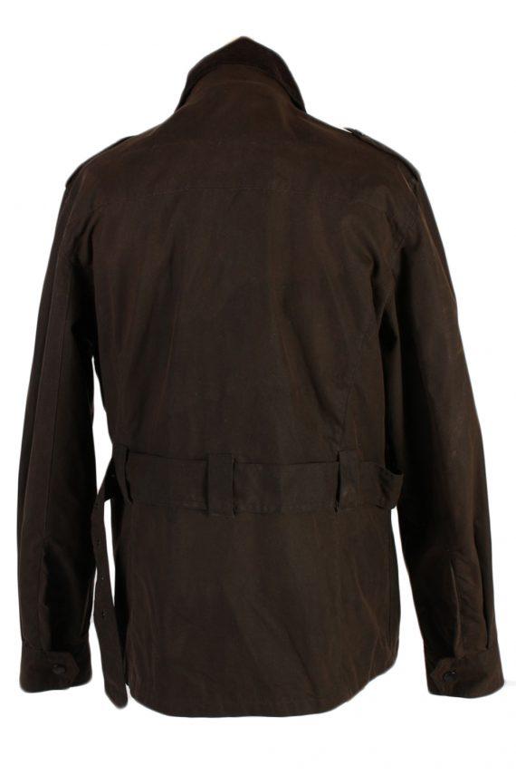 Vintage Crane Blanket Inner Waxed Coat Chest: 45 Brown -C511-51013