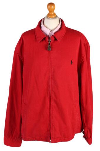 Vintage Ralph Lauren Womens Harrington Jacket  Chest: 52 Red