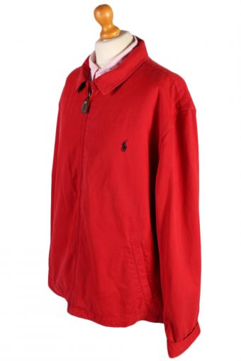 Vintage Ralph Lauren Womens Harrington Jacket Chest: 52 Red -C533-51119