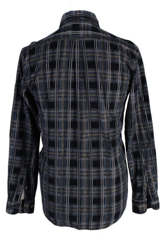 Vintage Laviino Corduroy Checked Shirt - L Multi - SH2862-52374