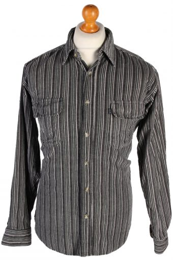 Corduroy Shirt Printed Super Speed Striped 90s Multi L