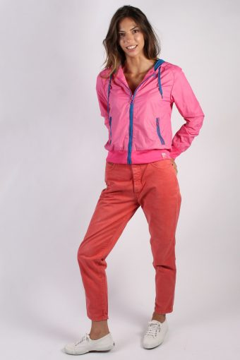Puma SportLIFESTYLE Vintage Womens Tracksuit Top S Pink -SW1589-50300