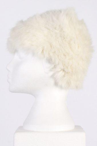 Vintage Unisex Russian Cossack Hat - XS White - HAT005-55979