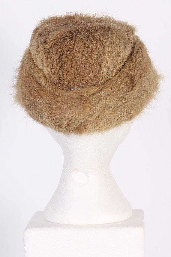 Vintage Fur Elegant Womens Hat - S Mocha - HAT091-56324