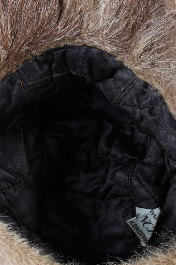 Vintage Fur Elegant Womens Hat - S Mocha - HAT091-56325