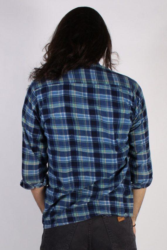 Vintage 90s Southwest Castle Mens Checked Flannel Shirt - L Multi - SH2988-55328