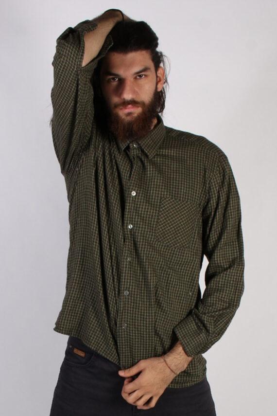 Vintage Lord Mens Flannel Shirt - XXL Multi - SH3013-0