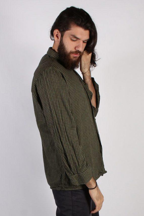 Vintage Lord Mens Flannel Shirt - XXL Multi - SH3013-55428