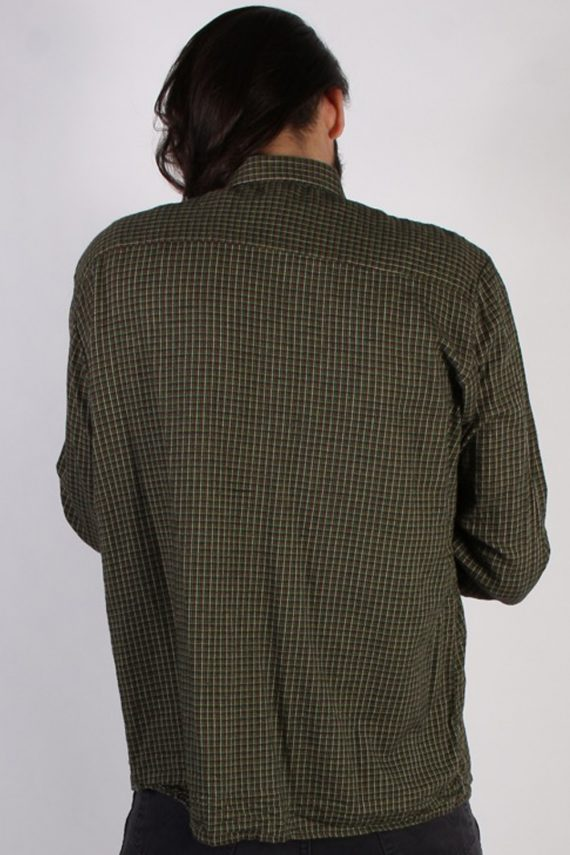 Vintage Lord Mens Flannel Shirt - XXL Multi - SH3013-55429