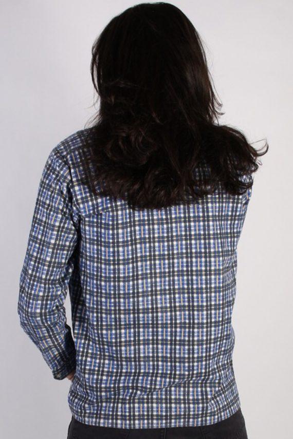 Vintage Pure Cotton Mens Flannel Shirt - XL Multi - SH3021-55461