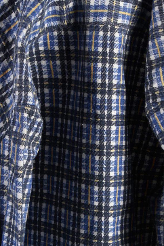Vintage Pure Cotton Mens Flannel Shirt - XL Multi - SH3021-55462