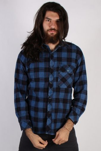 Flannel Shirt 90s Retro Multi S