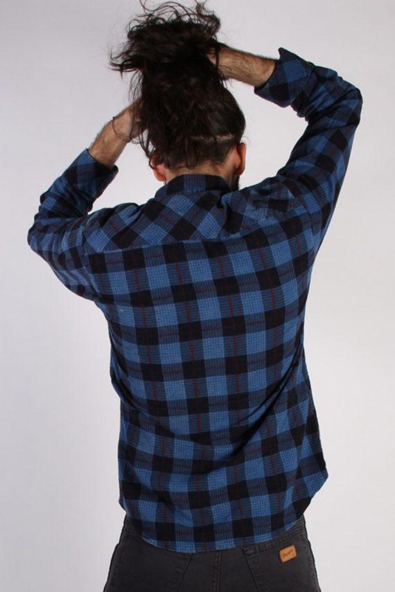 Vintage Loppo Mens Flannel Shirt - L Multi - SH3022-55465