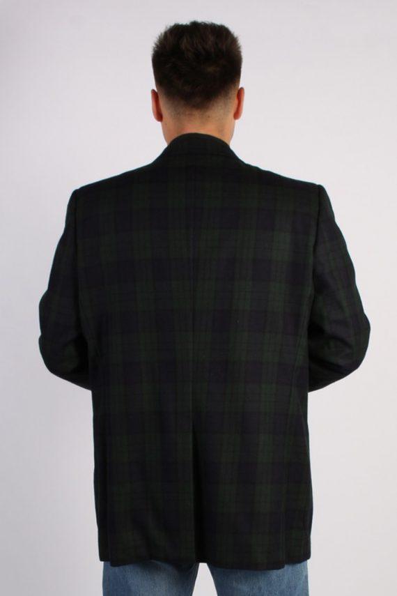 Vintage Aquascutum Mens Checked Jacket - L Multi - BR657-54049
